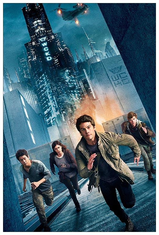 Хардпостер (на твёрдой основе) Maze Runner / Бегущий в лабиринте